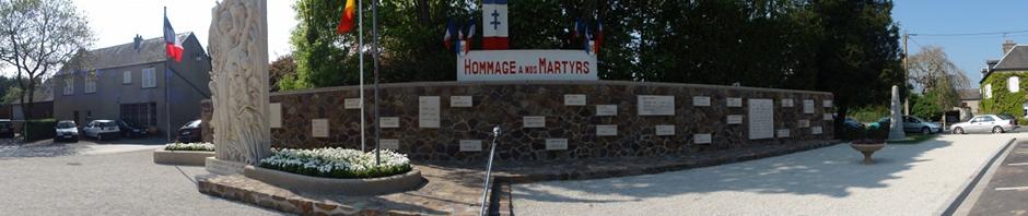 Montchamp - Mémorial aux résistants et déportés de l'arrondissement de Vire