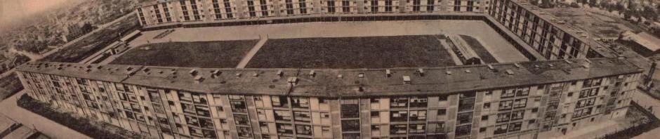 Le camp de Drancy en 1944 après les travaux dirigés par Brunner - Source brochure FFDJF