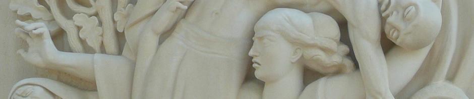 L'Action face à la répression nazie - détail du monument d'A. Janniot à Montchamp