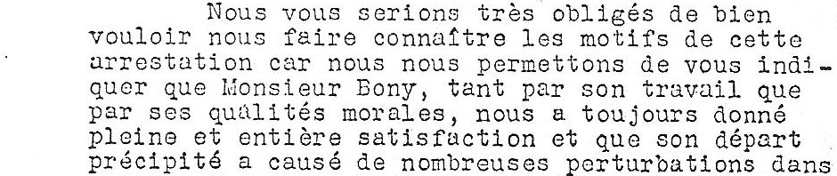 Henri Boni le douxième arrêté à Vire